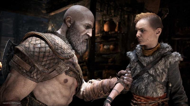 Kratos และ Atreus